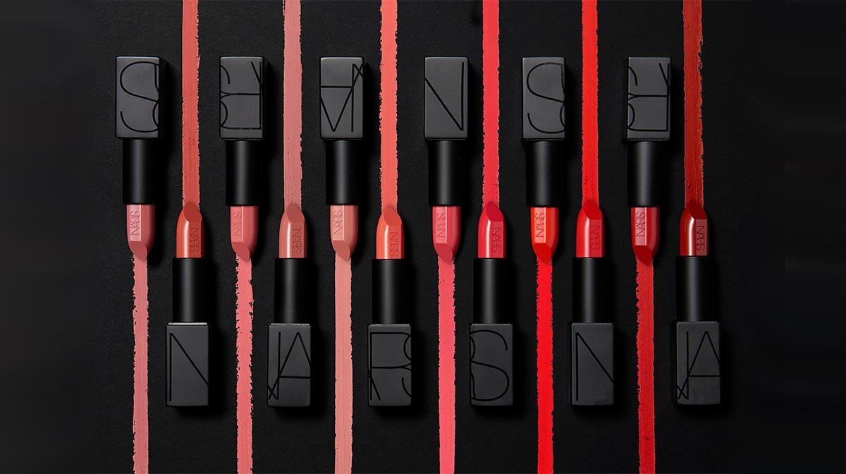 NARS Audacious Lipstick Swatches
