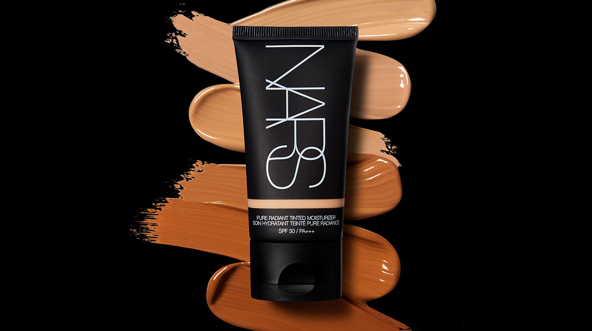 NARS Pure Radiant Tinted Moisturiser Shades and Swatches