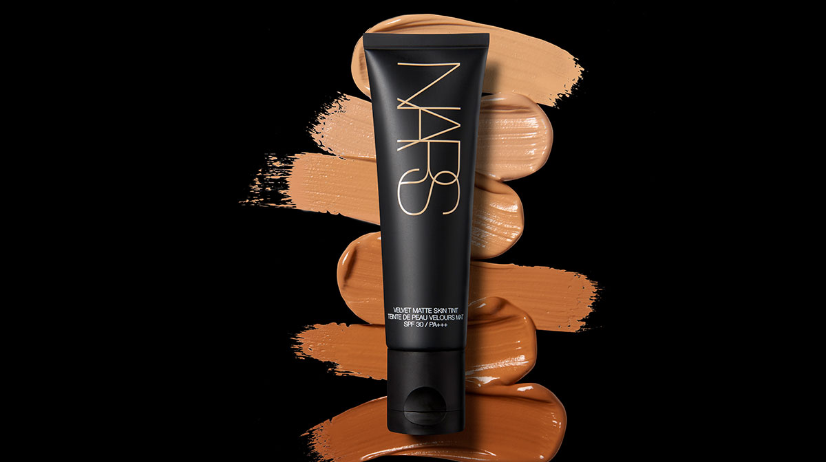 NARS Velvet Matte Skin Tint Shades and Swatches