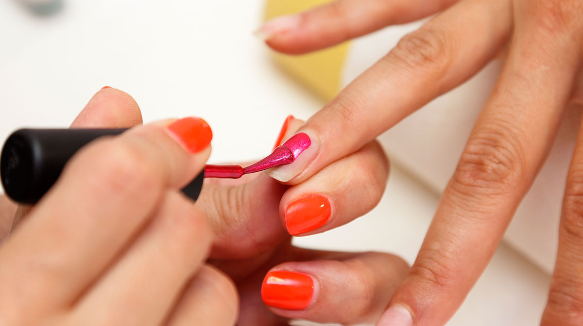 How to nail the perfect at home manicure