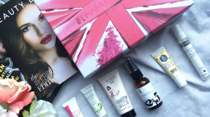 Bloggers review the #LFBESTOFBRITISH Beauty Box