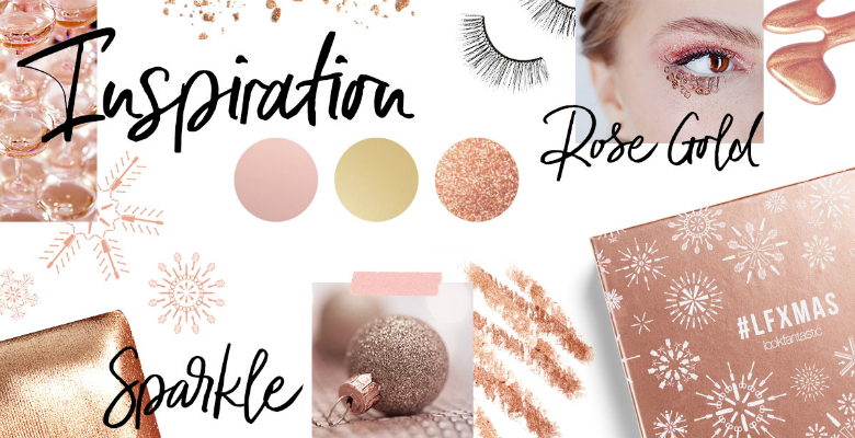 inspiration December Beauty Box moodboard