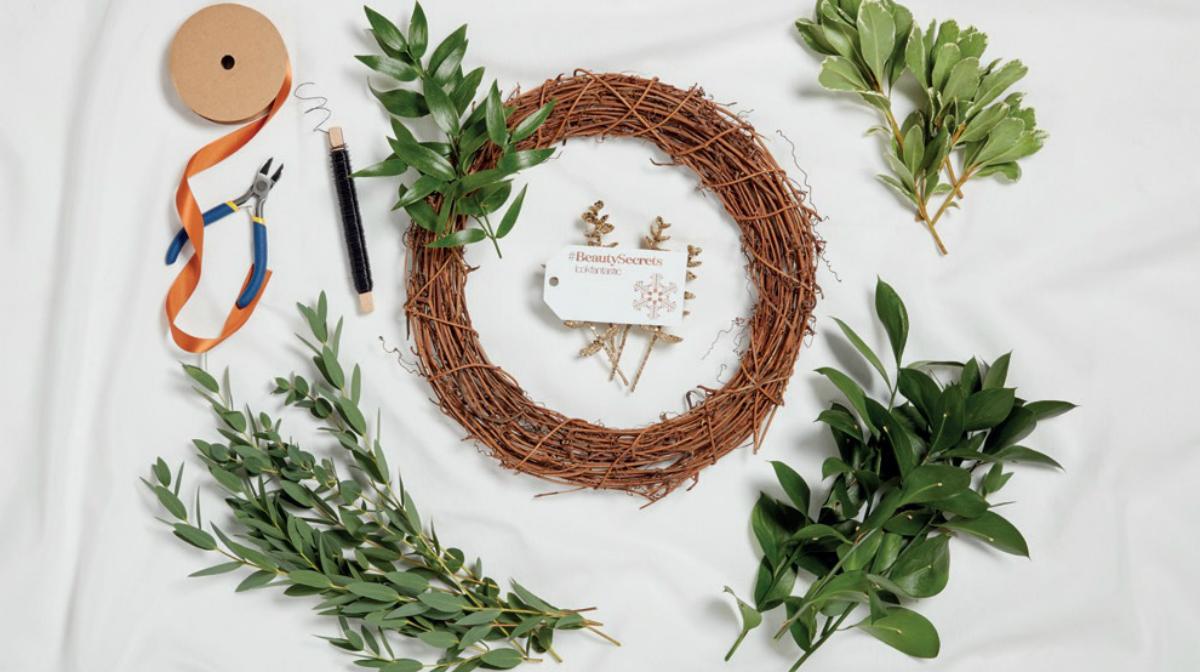 Make Your Own Eucalyptus Wreath