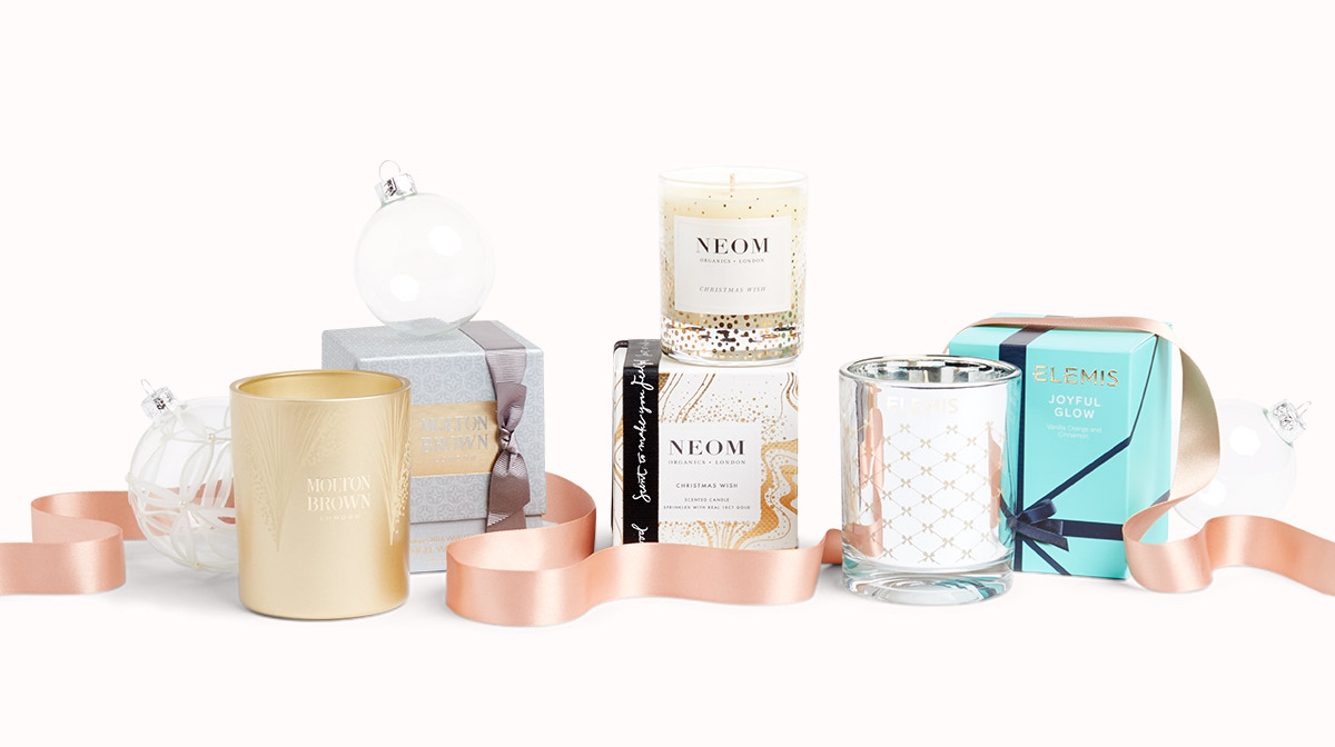Beauty Unwrapped: The Christmas Candle Edit