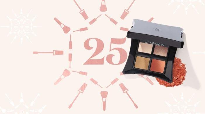 Winter Makeup: Day 25 - The Festive Smoky Eye with Illamasqua