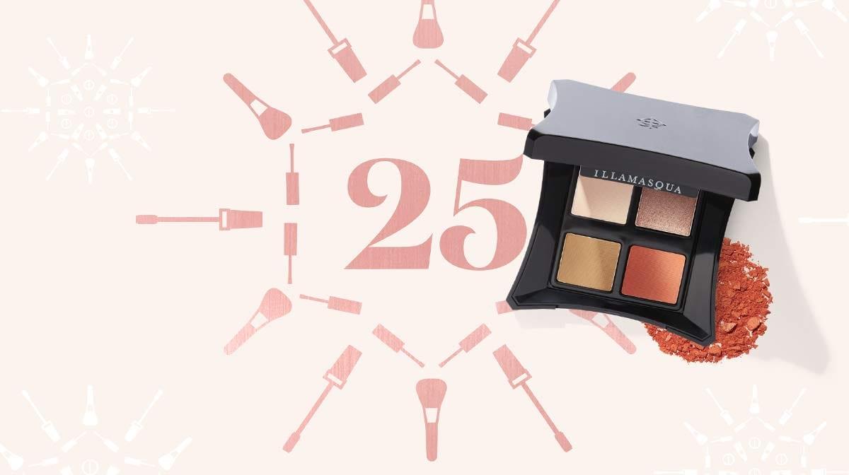 Winter Makeup: Day 25 – The Festive Smoky Eye with Illamasqua