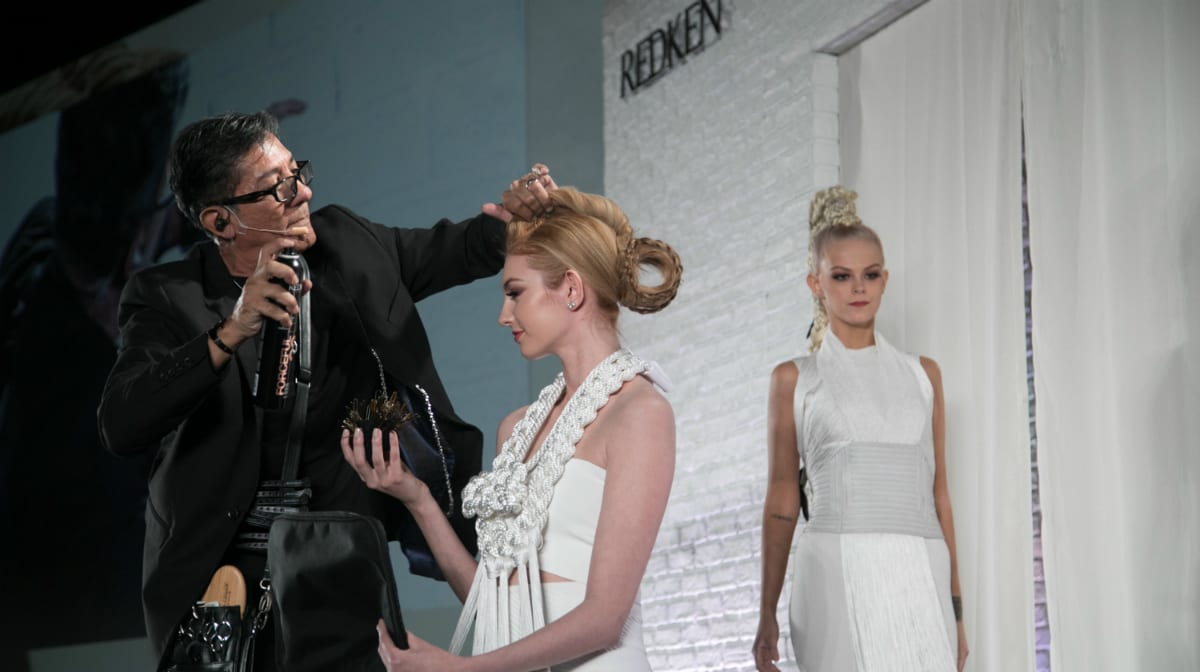 Braided Hairstyles With Redken