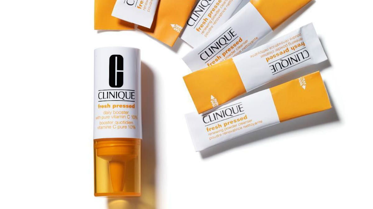 Glowing Skin With Clinique Fresh Pressed