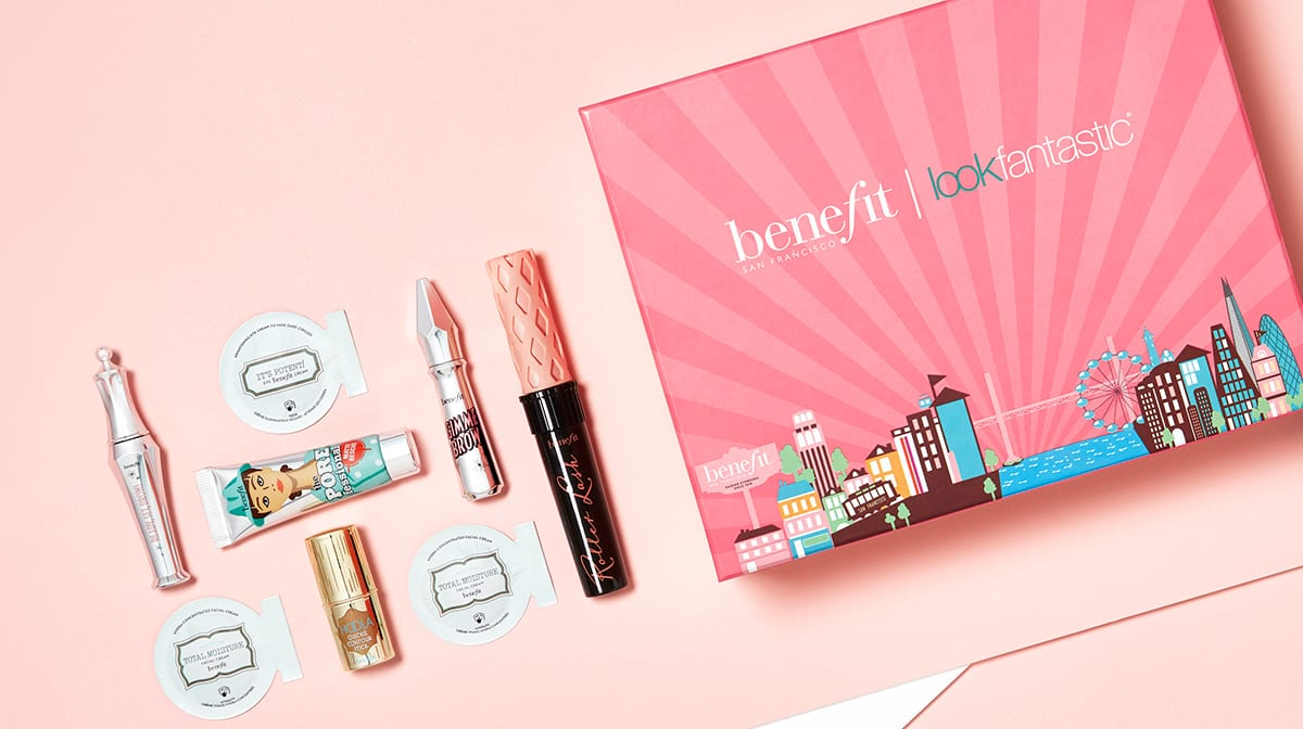 What is inside the Benefit Limited Edition Box?