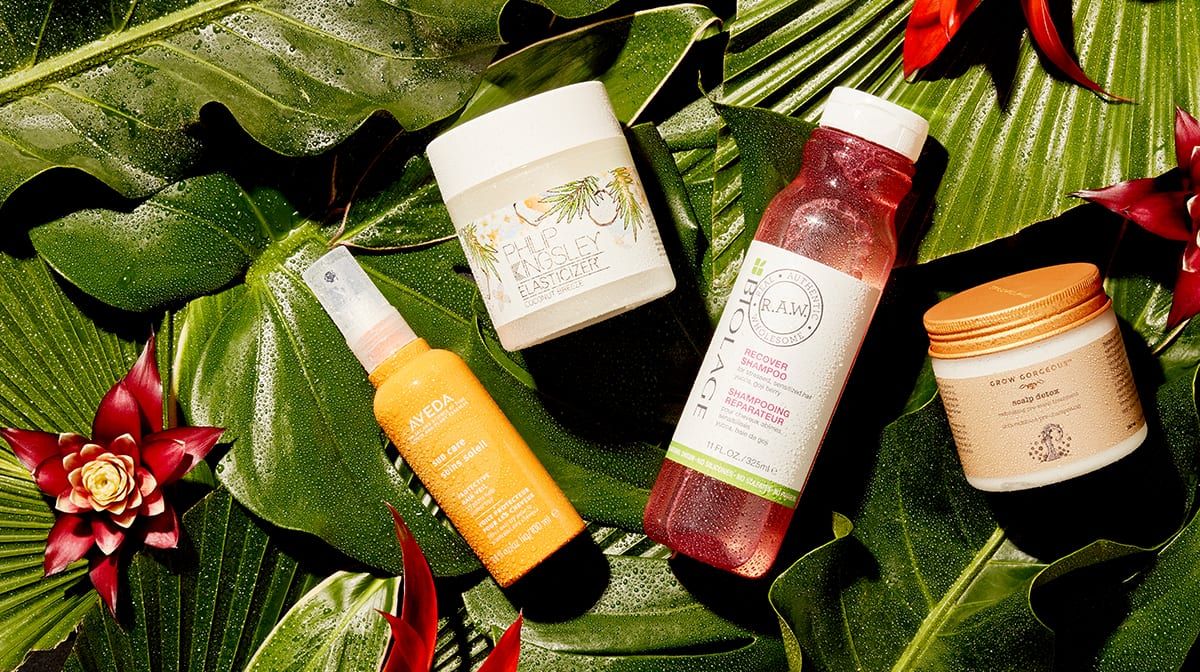 The Best Tropical Ingredients for Hair