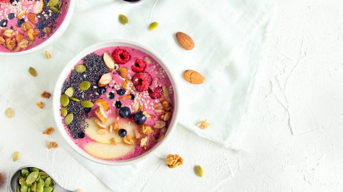 A Morning Smoothie Bowl Recipe