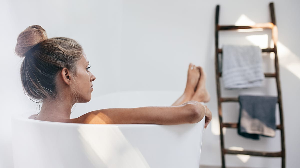 Why taking a bath is more than just a relaxation technique…