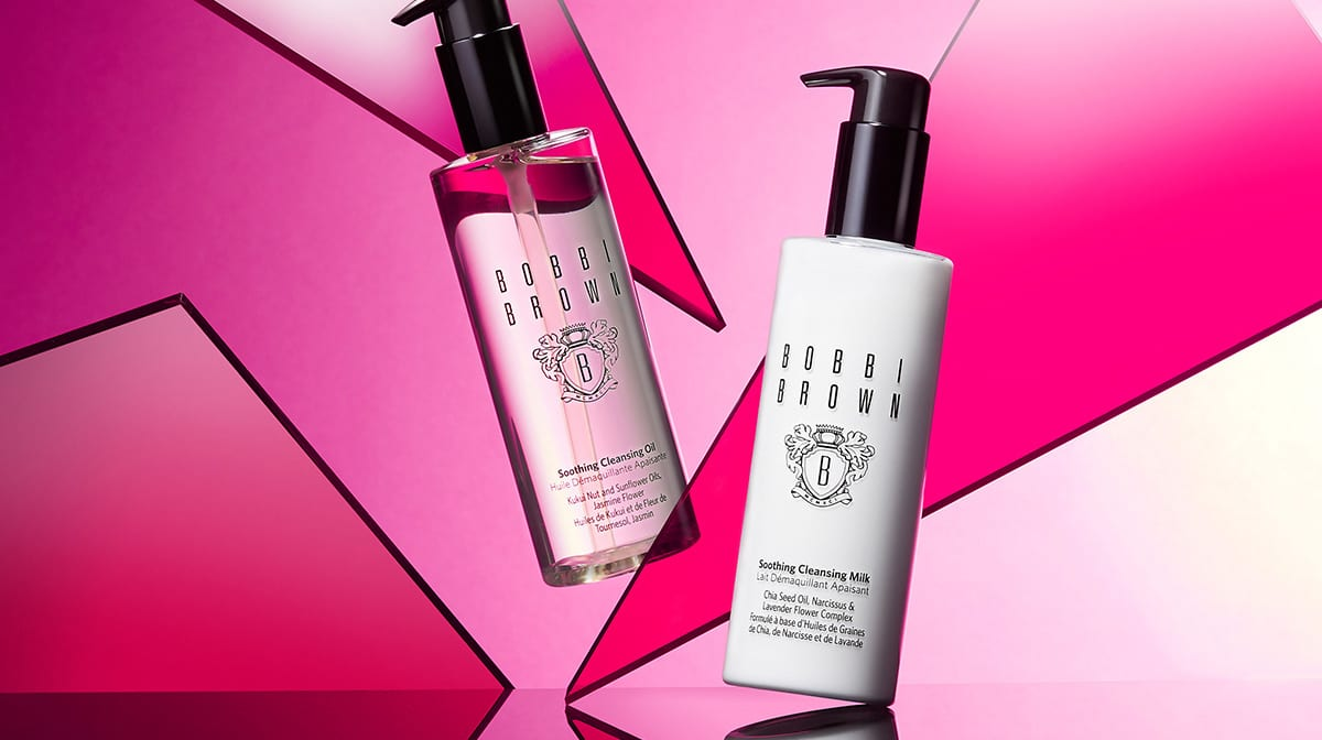 Double Cleansing with Bobbi Brown