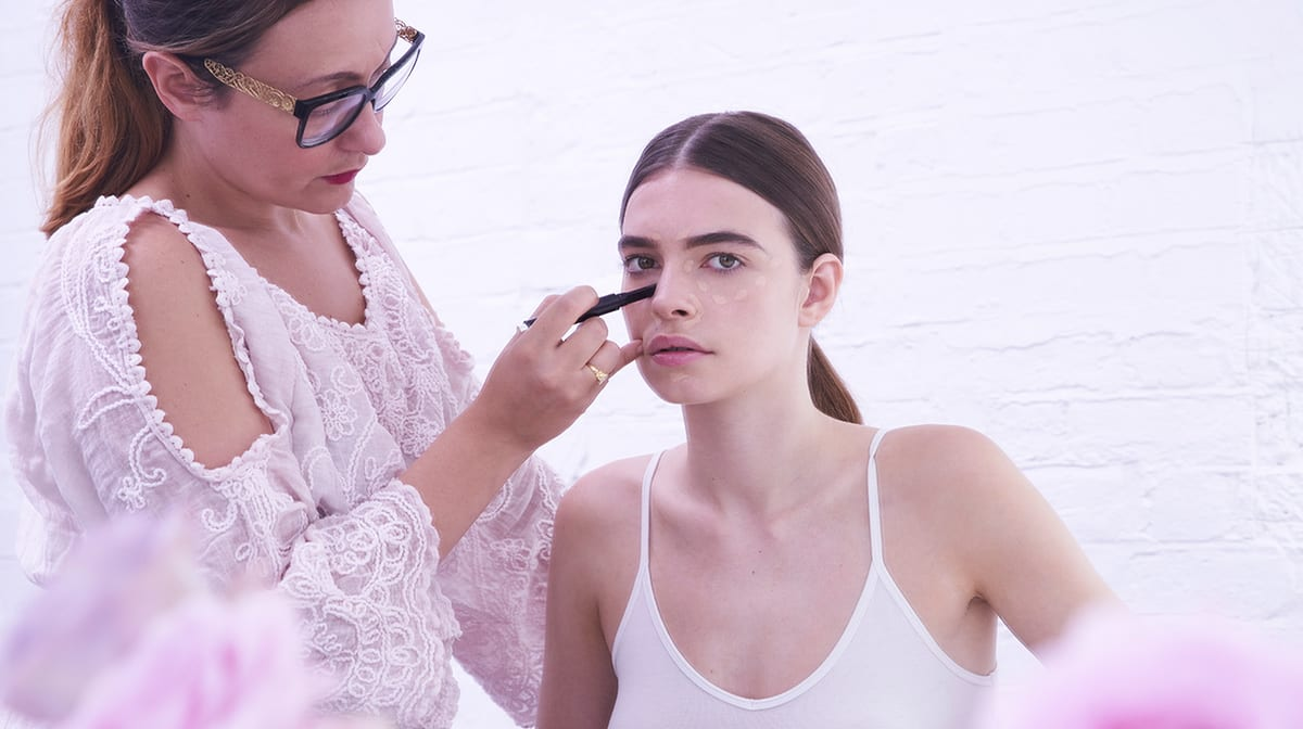 A natural makeup look for spring with By Terry