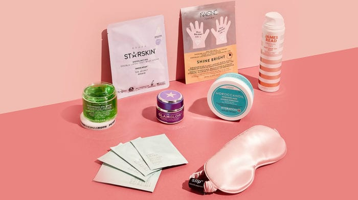 The perfect overnight pamper kit to celebrate National Sleepover Day