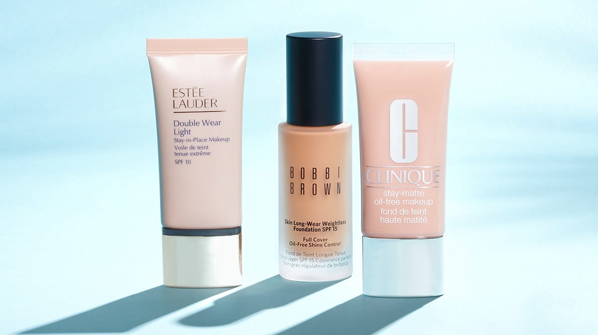 3 of the best foundations for oily skin in the summer