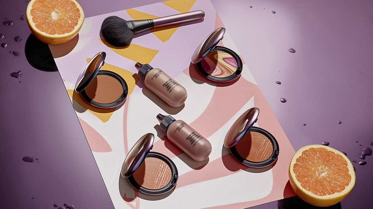 Discover the MAC Mirage Noir makeup collection