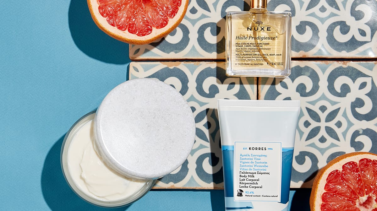 The summer body glossary: lotions, butters and oils
