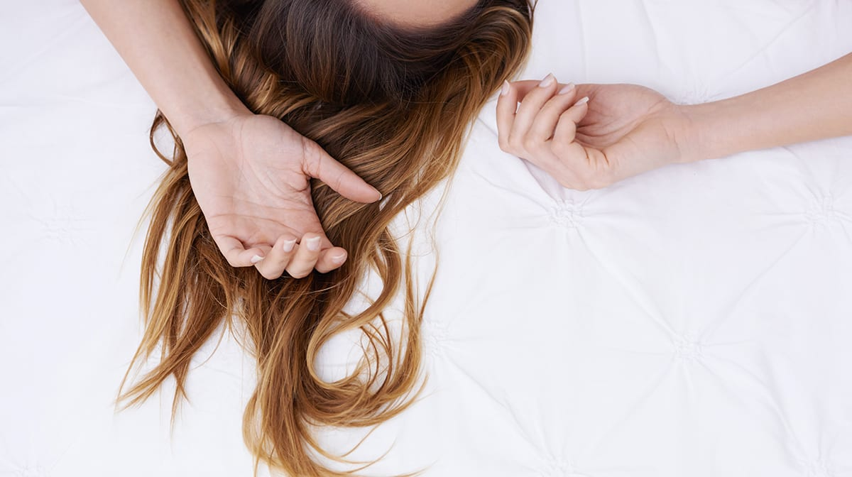 How to wake up with perfect hair