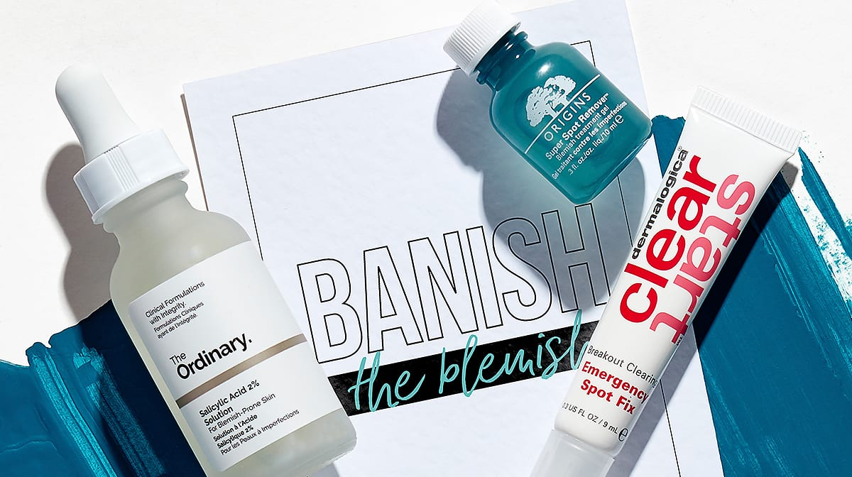How To Get Rid Of Spots & Skin Blemishes