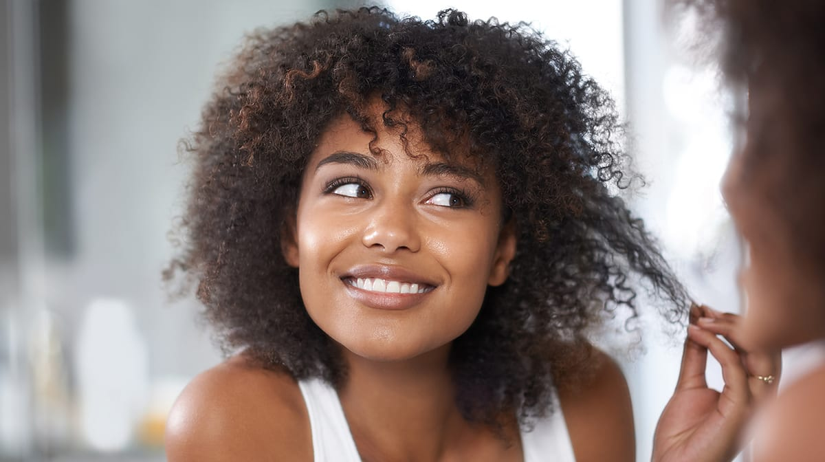 How to discover your curly hair type