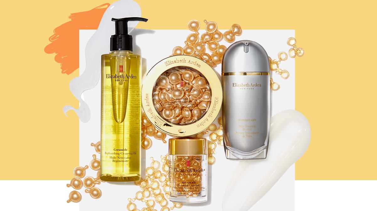 An anti-ageing skincare routine with Elizabeth Arden