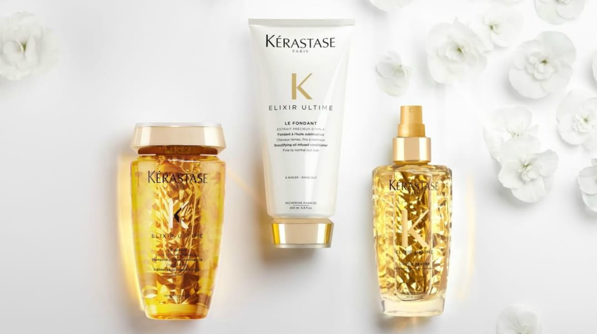 Just dropped: The newly reformulated Elixir Ultime collection from Kérastase
