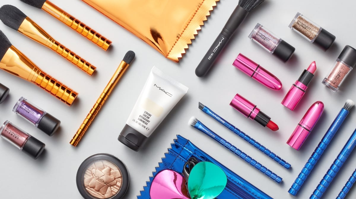 Shine bright and glow with MAC Pretty Shiny Things Christmas Collection