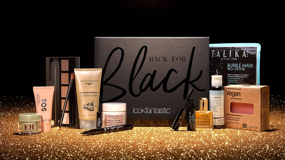Discover the 'Back for Black' Limited Edition lookfantastic Black Friday Beauty Box