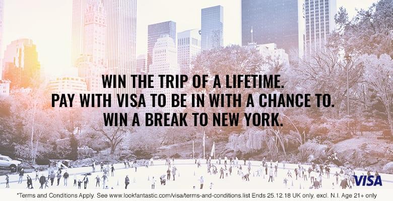 Visa competition lookfantastic