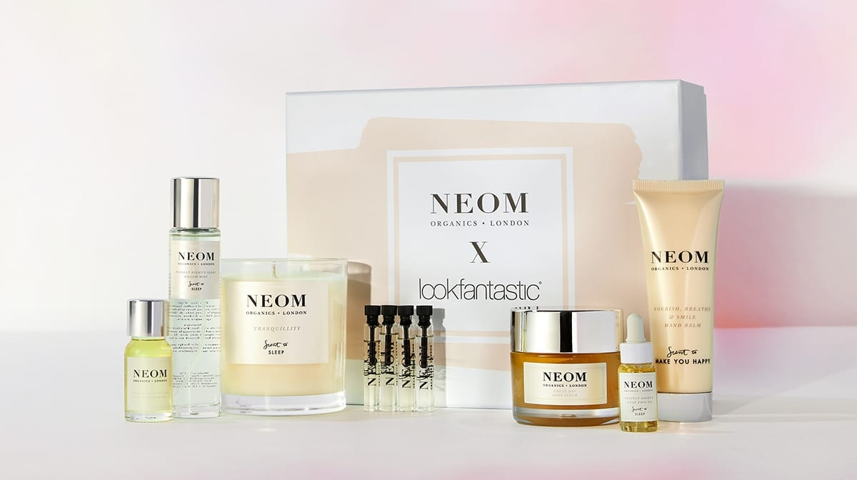 What's inside the exclusive lookfantastic x NEOM Organics Beauty Box?