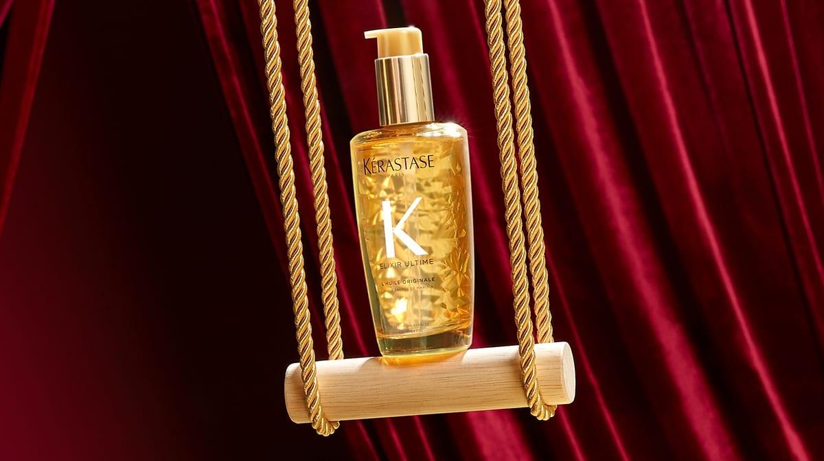 A winter haircare routine with Kérastase Elixir Ultime