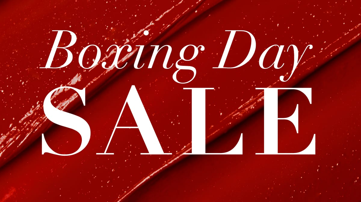 Boxing Day Sale: the beauty edit