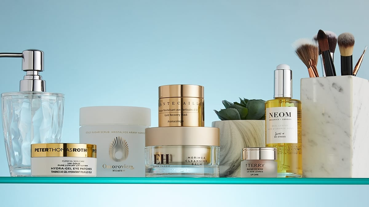 Skincare Shelfie: The most indulgent & luxurious beauty products