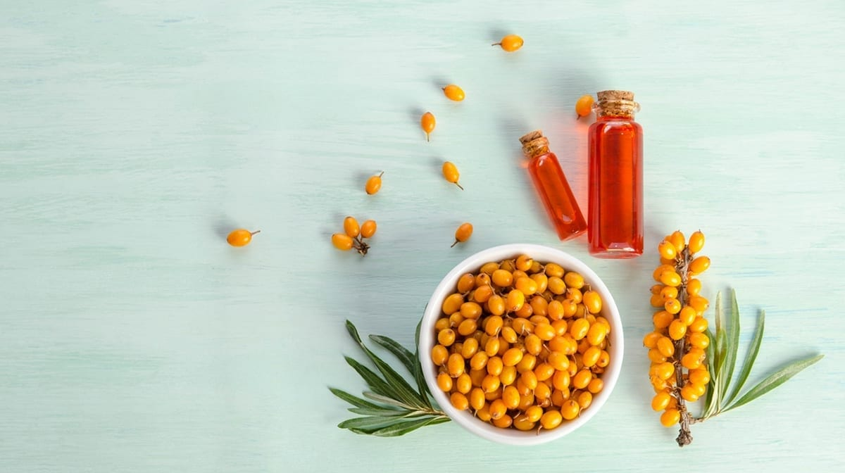 What are the benefits of Sea Buckthorn Oil in skincare?
