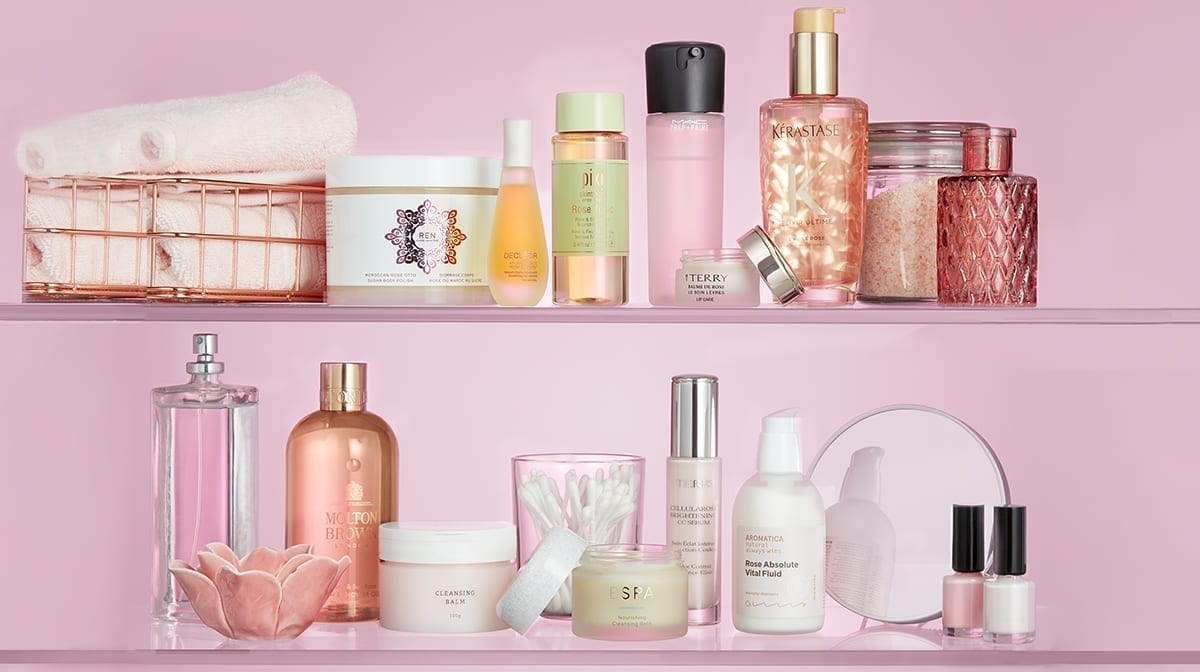 The Beauty Shelfie: Rose-infused beauty products for Valentine's Day