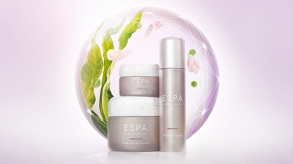 Discover the new range of anti-ageing probiotic skincare from ESPA