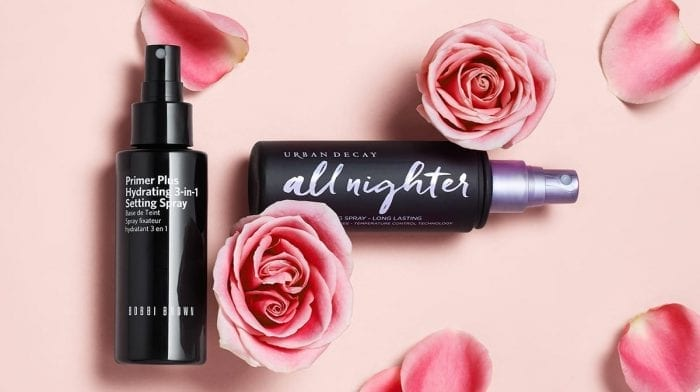 An edit of the best setting sprays for makeup