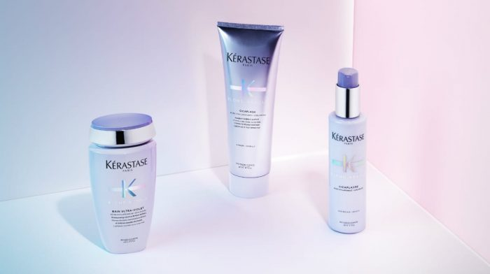 Achieve clean, ash blonde hair with Kérastase Blond Absolu