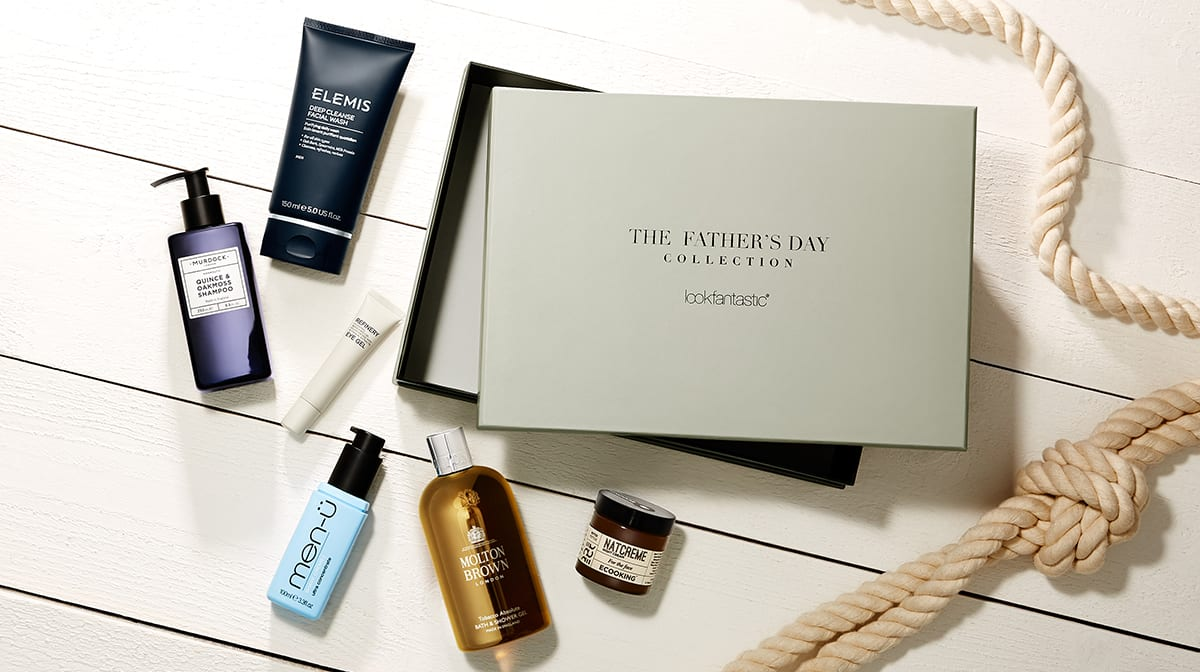 Introducing the lookfantastic Father's Day Collection