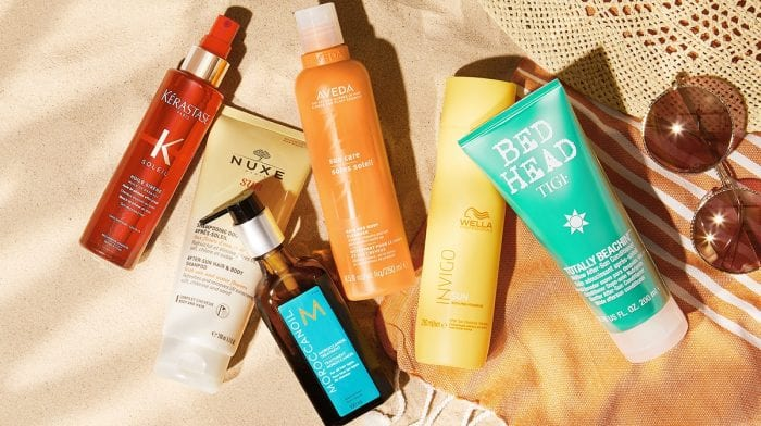 Which are the best after sun hair products?