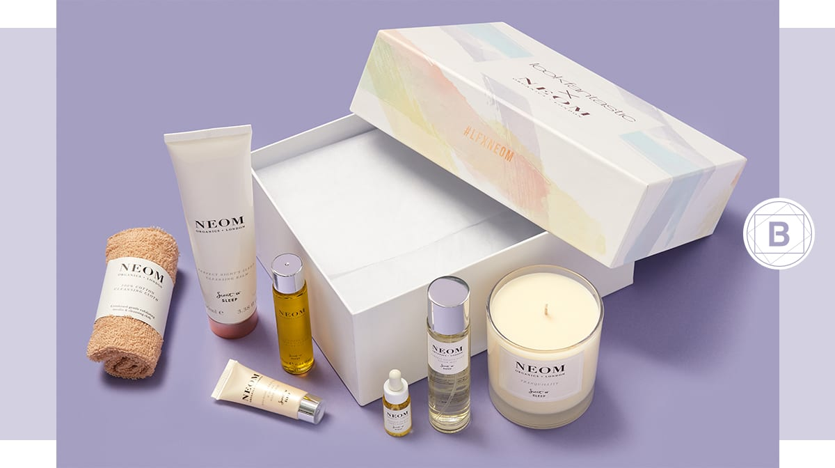 Discover the lookfantastic x NEOM Limited Edition Beauty Box