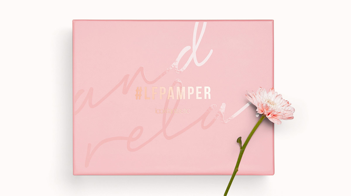 ¡Echa un vistazo a nuestra caja de belleza #LFPAMPER!