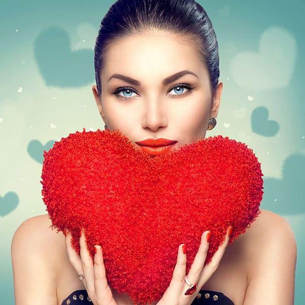 Maquillaje de san valentín