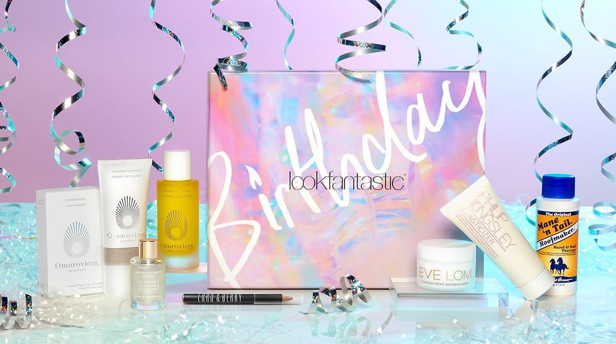La Beauty Box de lookfantastic de Edición de Cumpleaños