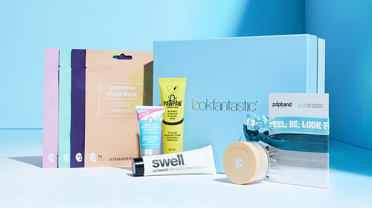 La Beauty Box de lookfantastic de enero