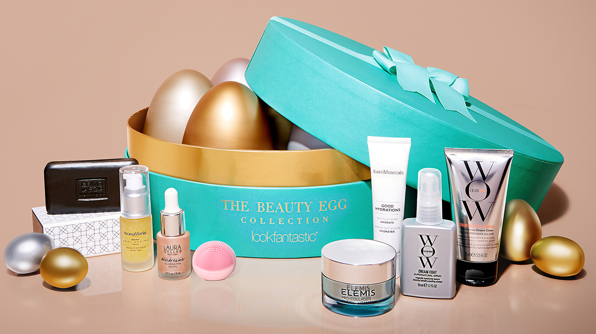 ¿Qué hay dentro de la Beauty Egg de lookfantastic?