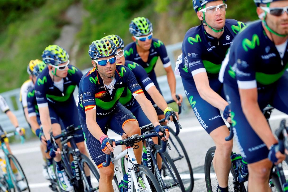 Movistar Team at Giro d'Italia 2016