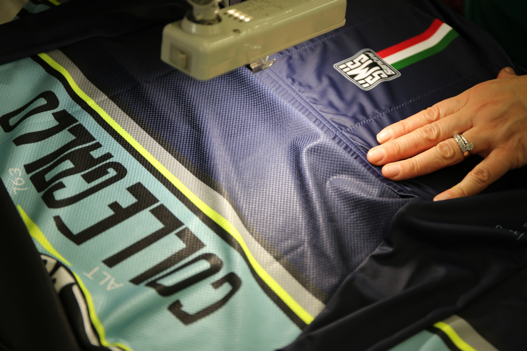 Santini Galllo Jersey from the Bergamo Collection 2017