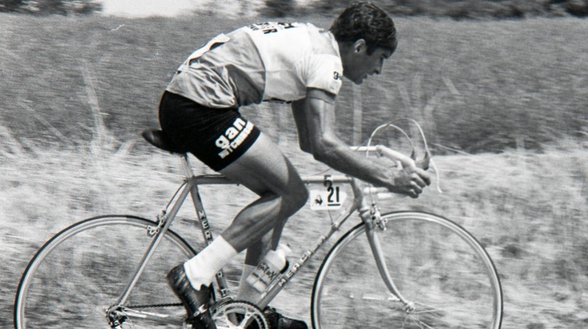 Raymond Poulidor at the 1976 Tour de France